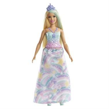 Barbie Barbie Dreamtopia Prenses Bebekler Renkli